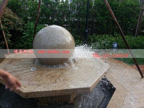 風水球噴泉 風水噴泉雕塑  大理石風水球