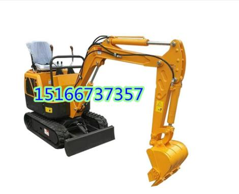 自重850公斤浩鴻農用小挖機 微型挖掘機