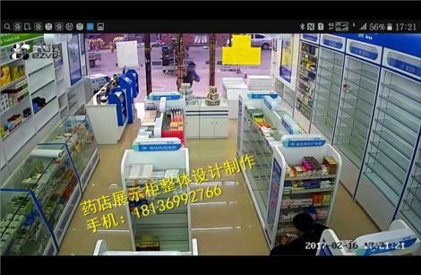 苏州药店装修设计 药店柜台批发定做厂家