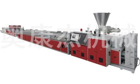 舟山木塑型材生产线