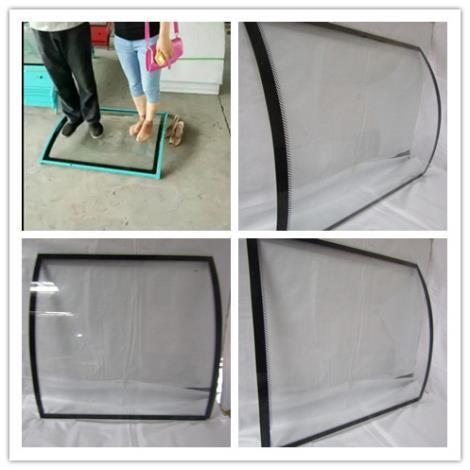 電動餐車玻璃加工