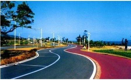 彩色沥青路面生产