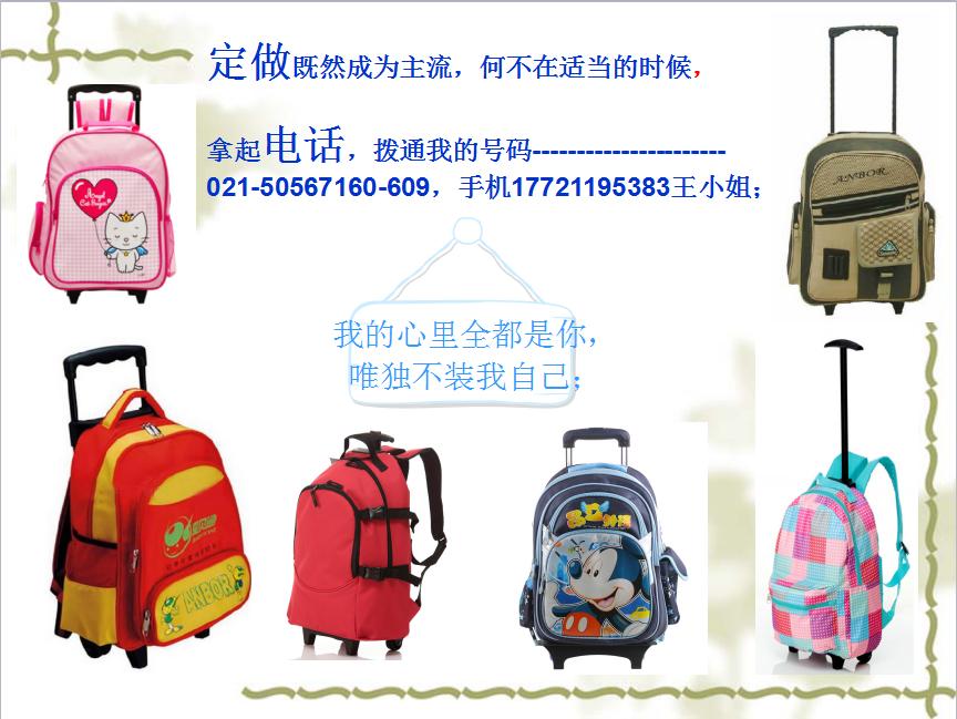 各種背包書包廣告包定制廠家可加logo上海方振