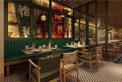 上海茶餐厅装修效果图 上海茶餐厅装修效果图 蒂斯诺供