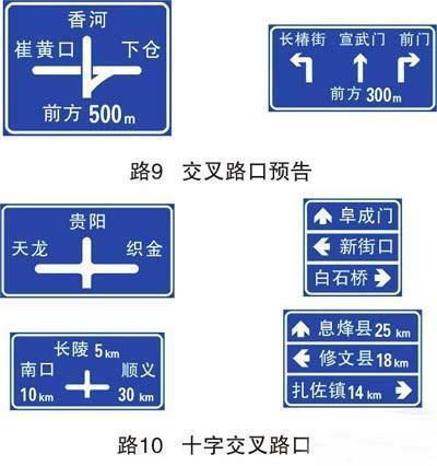 F型交通标志牌
