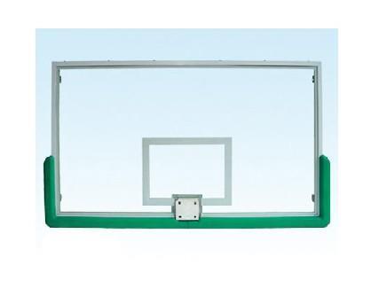 透明钢化玻璃篮球板