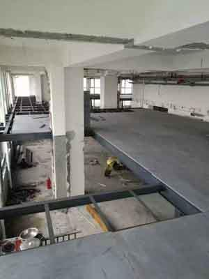 LOFT钢结构阁楼板销售