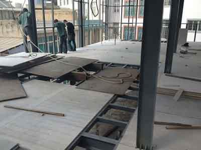 LOFT钢结构夹层楼板销售