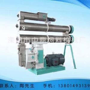 SZLH400/420高檔畜禽型環模制粒