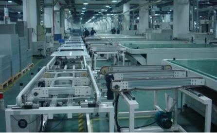 太阳能电池板生产线