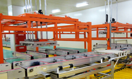 太阳能组件生产线