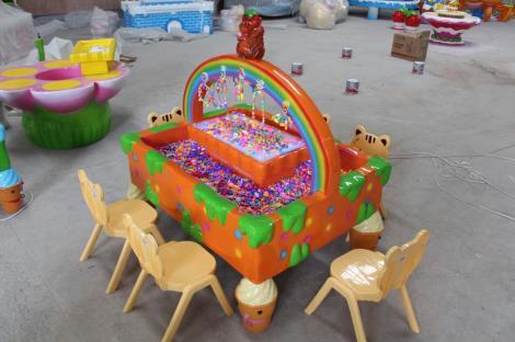 彩虹智趣串珠桌