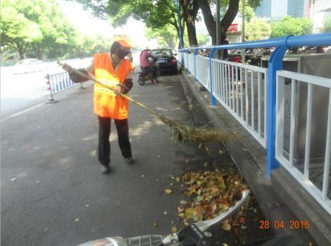 道路人工保洁