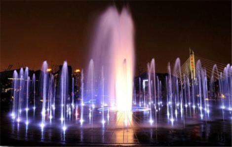 旱式喷泉设备