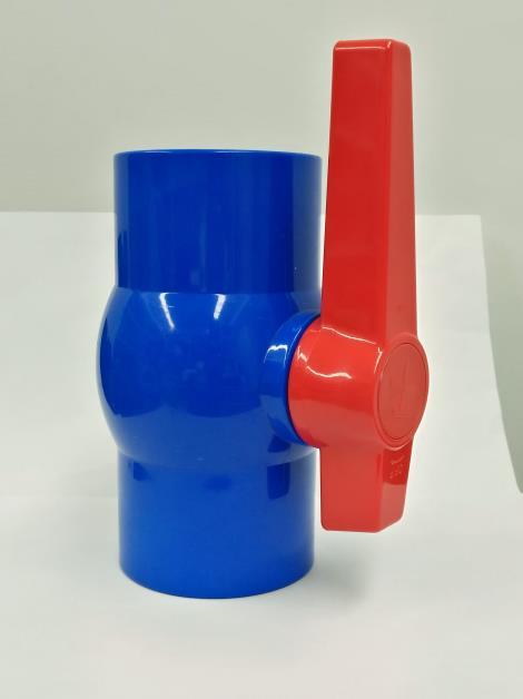 pvc球閥-藍色