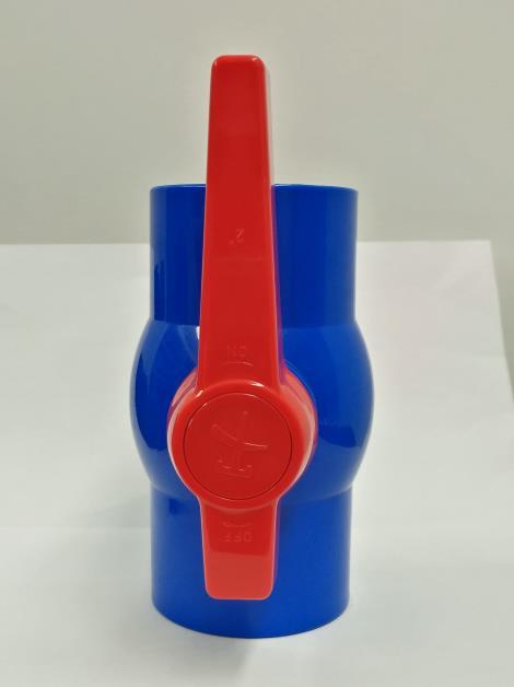 pvc球阀 -蓝色