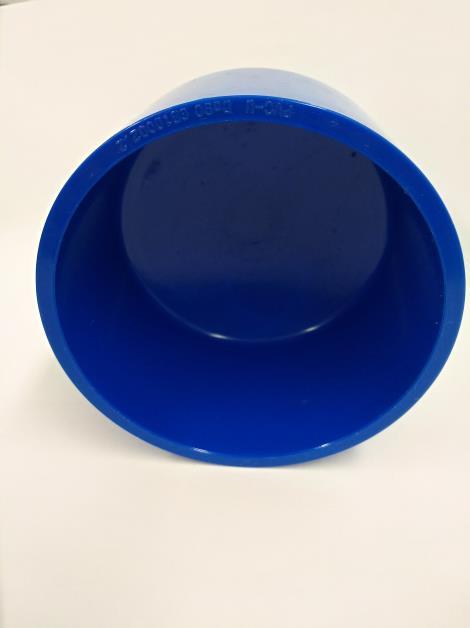 PVC蓝色管堵