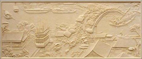 沭阳砂岩雕塑