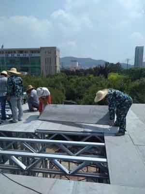 LOFT钢结构夹层楼板生产厂家