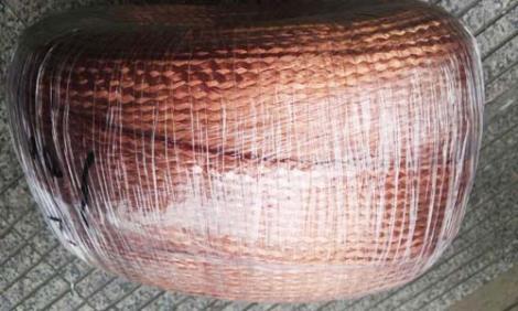厂家直销紫铜编织线