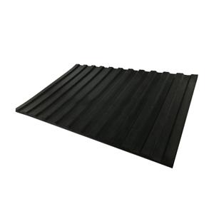 深宽沟条纹橡胶板