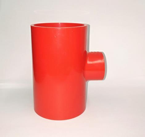 pvc异三通-红色