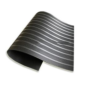 宽细相间条纹橡胶板