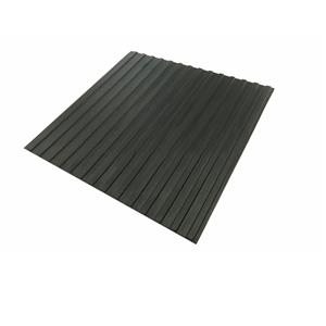 宽条纹橡胶板