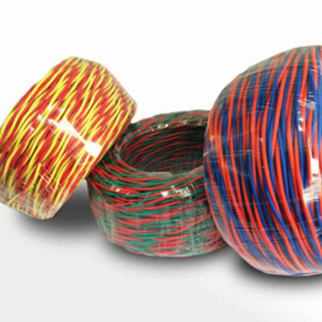 专业铜芯聚氯乙烯绝缘绞型连接用软电线