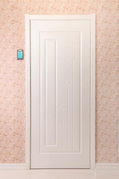 实木白漆门直销
