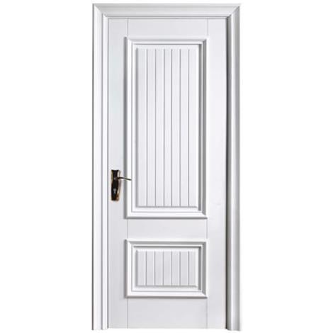 金坛实木白漆门