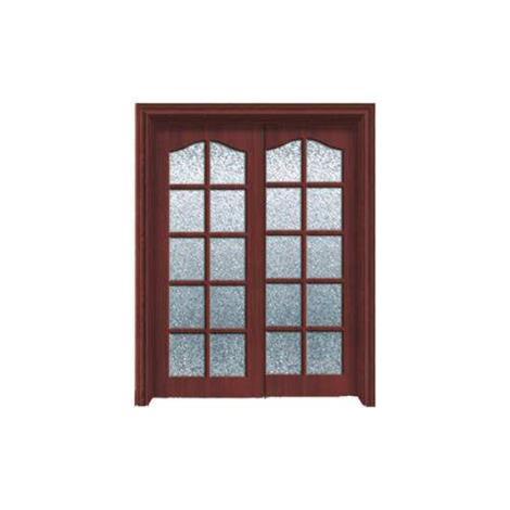 常熟实木玻璃门