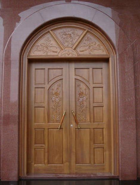 常熟实木拱形门