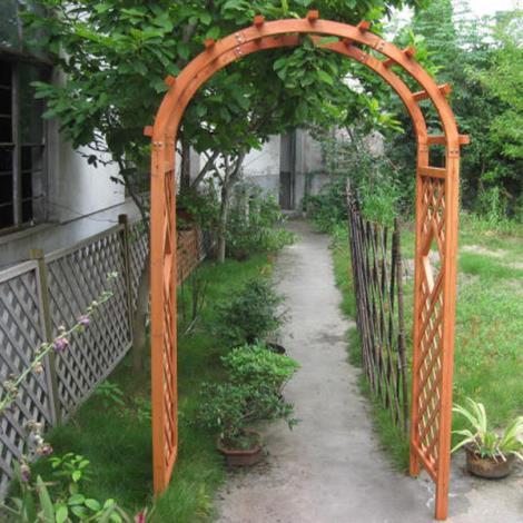 常熟实木花架门