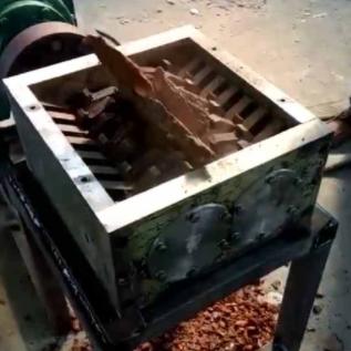 撕碎机内部结构