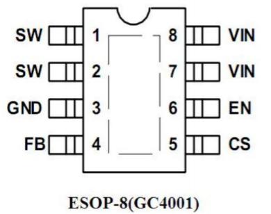 GC4001 PWM降压恒流控制器