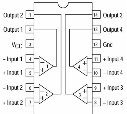 GC339四比较器集成电路