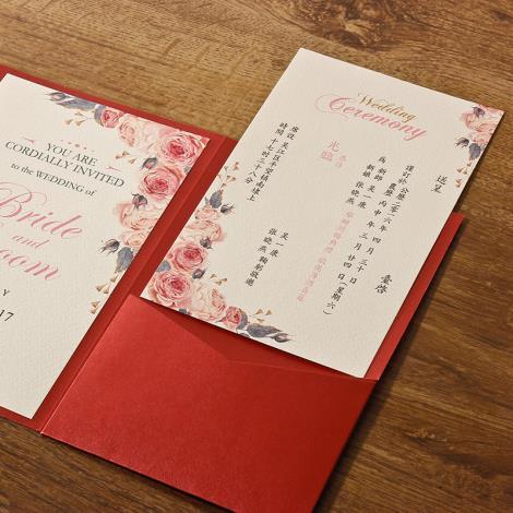 工厂印刷制作请柬邀请函定制贺卡会结婚喜帖图片