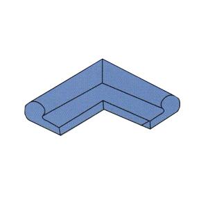 水闸橡胶密封件P5型