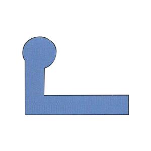 水闸橡胶密封件L型