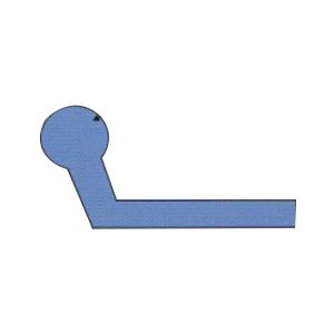 水闸橡胶密封件L3型