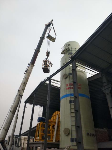 常州冷却塔施工