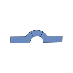 水闸橡胶密封件Ω2型