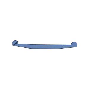 水闸橡胶密封件V2型