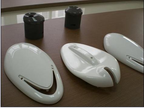 遙控器外殼塑料模具快速打手板