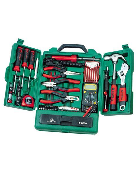 45PCS专业型柜式电讯组合工具