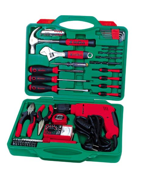 58PCS多用型带电钻组合工具