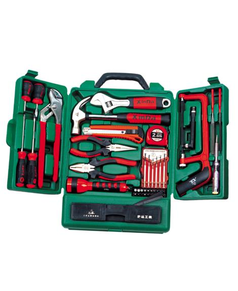 51PCS礼品型柜式家用组合工具