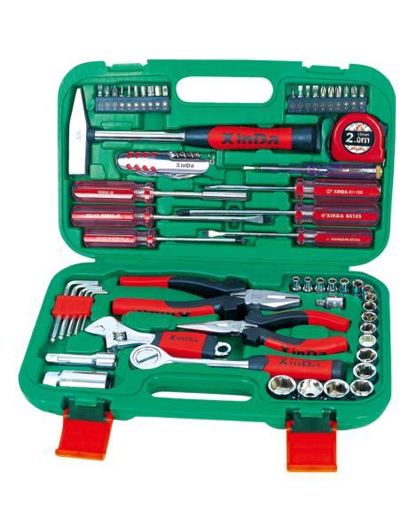 61PCS家用组合工具