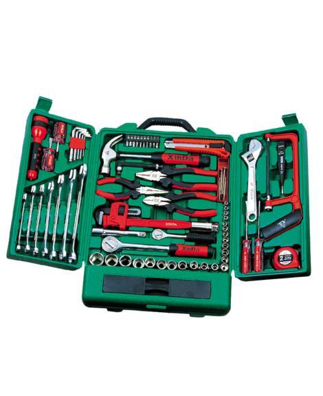 75PCS柜式家用组合工具